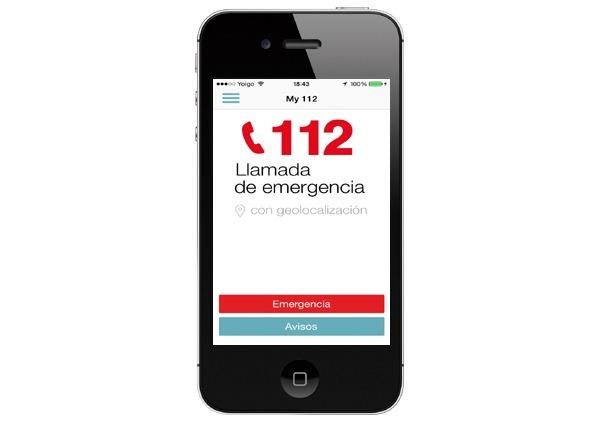 Aplicación para emergencias My112