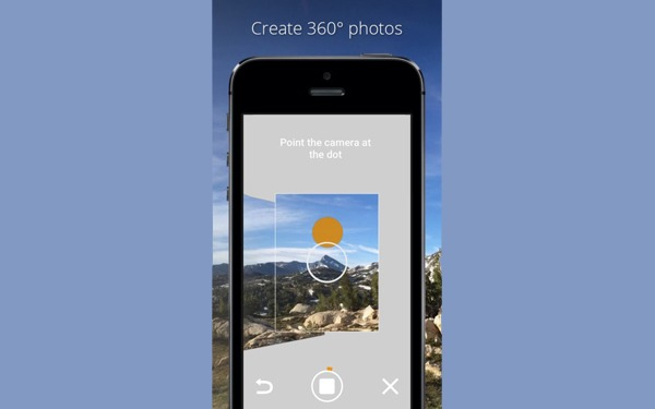 Photo Sphere Camera, nueva aplicación de fotografí­a de Google para el iPhone