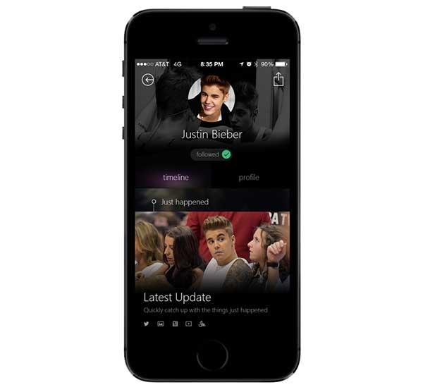 Snipp3t, sigue toda la información de tus famosos favoritos con esta app