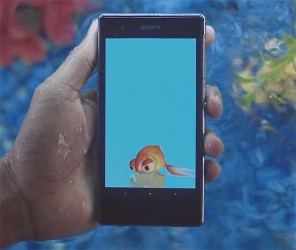 Sony lanza apps acuáticas para el Sony Xperia Z y el Xperia Z1s