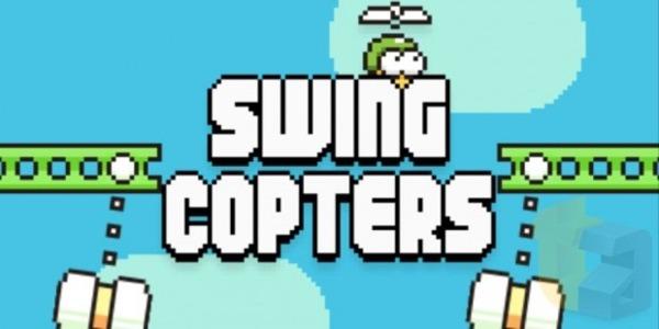 Swing Copters, el nuevo juego que prepara el creador de Flappy Bird