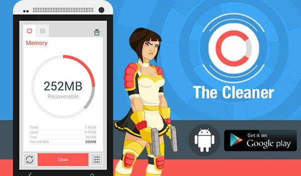 The Cleaner, la aplicación que permite limpiar a fondo cualquier móvil con Android