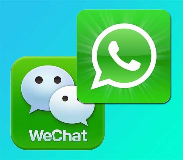 wechat whatsapp