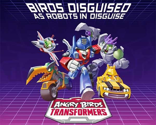 Angry Birds Transformers confirma su fecha de llegada para el mes de octubre