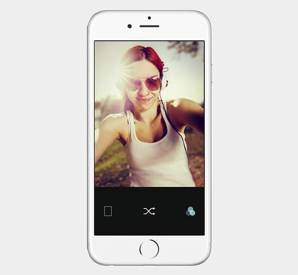 B612, la aplicación para tomar selfies de LINE