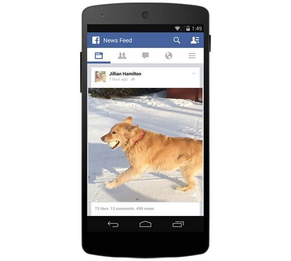 Facebook ya tiene un contador de reproducciones para los vídeos compartidos