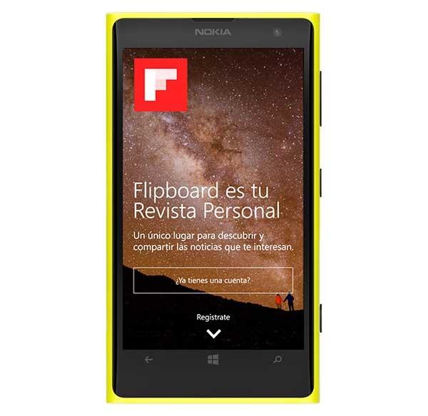 Flipboard llega a Windows Phone sin su principal característica