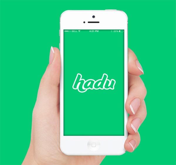 Hadu, una app de mensajería que evita a los pesados