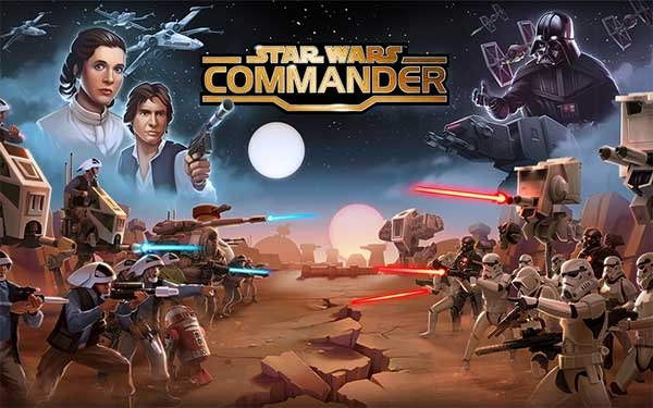 Star Wars: Commander, un juego de estrategia al estilo Clash of Clans