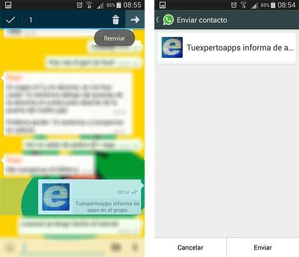 whatsapp tutorial contactos broma