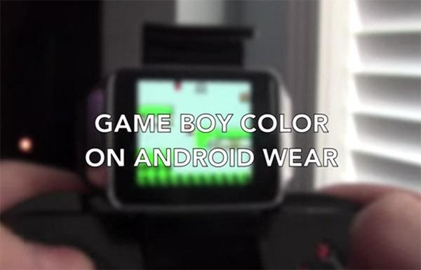 Convierten un reloj Android en una Game Boy y juegan a Pokémon y Mario