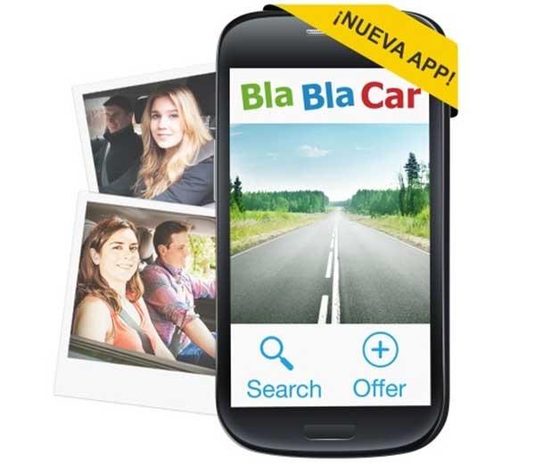 BlaBlaCar renueva su app para compartir viajes en coche desde el móvil