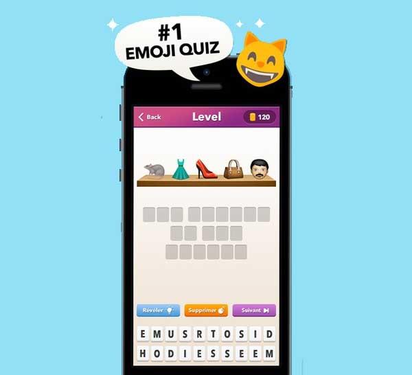 Emoji Quiz, un juego de emoticonos Emoji como los de WhatsApp