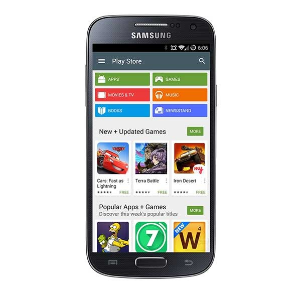 Google Play renueva su icono, menús y diseño en su última actualización
