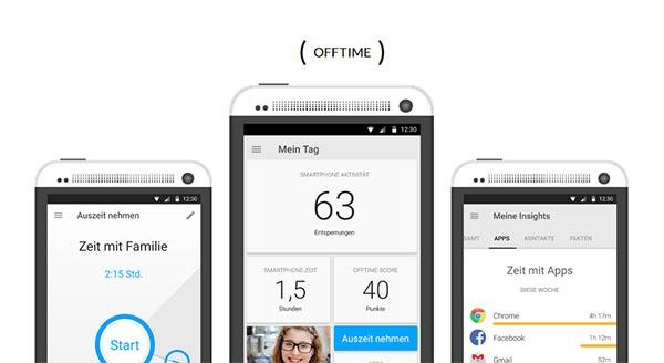 Offtime, la app que te ayuda a desconectar de tu móvil