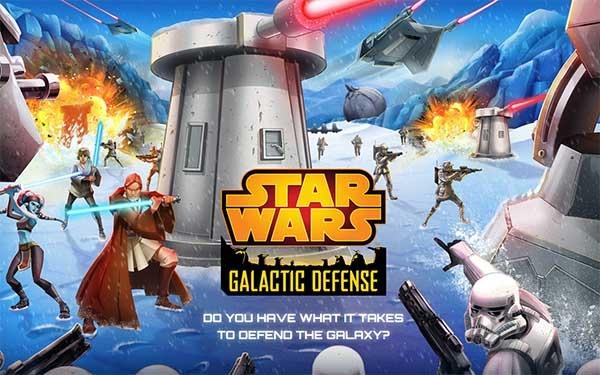 Star Wars: Galactic Defense, un juego de estrategia basado en Star Wars