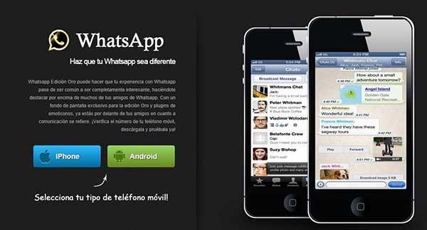 whatsapp gold timo