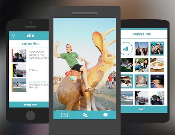 Microsoft Xim, muestra imágenes en las pantallas de otros móviles
