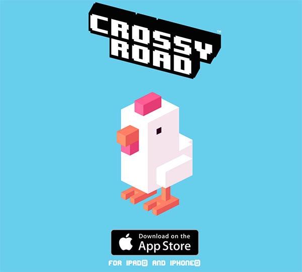Crossy Road, atrévete a cruzar la carretera en este divertido juego