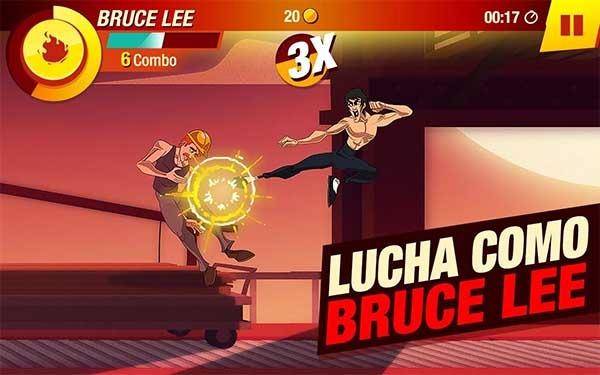Bruce Lee, el juego de lucha del maestro de las artes marciales
