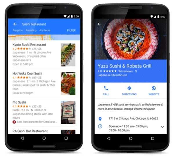 google now material design