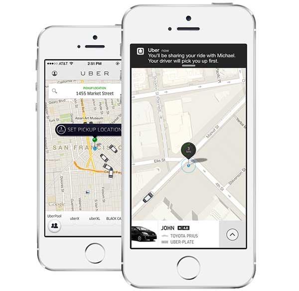 Los taxistas catalanes denuncian a Uber por competencia desleal
