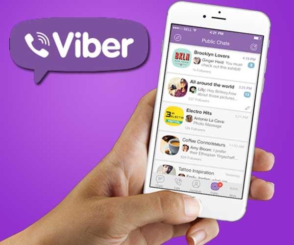 Viber crea los Chats Públicos para hablar con celebridades