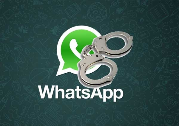 fraude whatsapp doble check azul