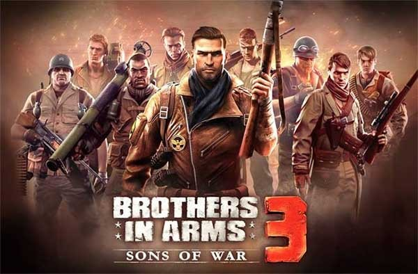 Brothers In Arms 3, un apasionante juego de disparos para móviles