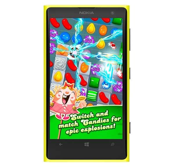 Candy Crush Saga llega a Windows Phone
