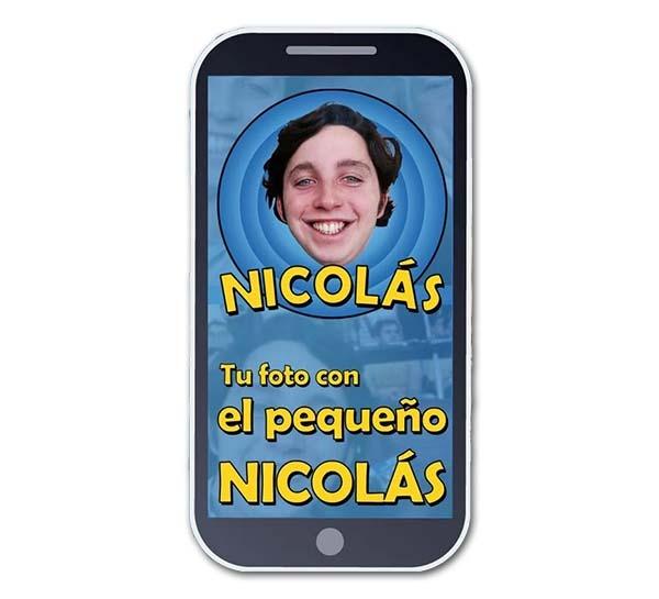 Tu foto con el Pequeño Nicolás, una app de broma muy divertida