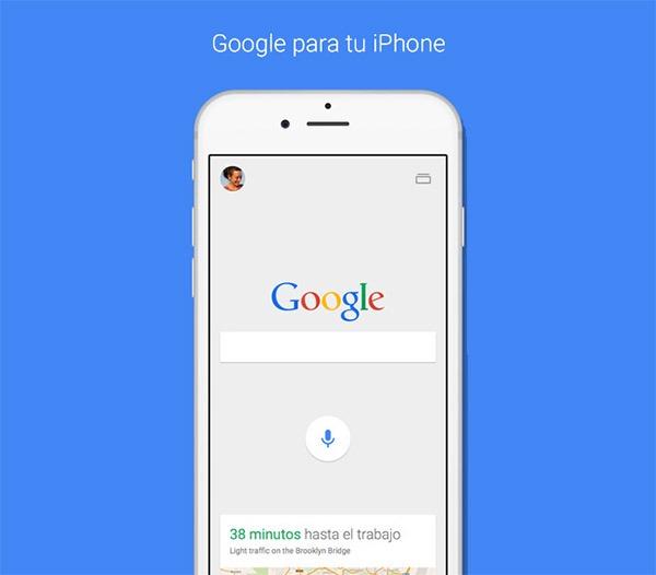 Google se actualiza con nuevo diseño y funciones para iPhone