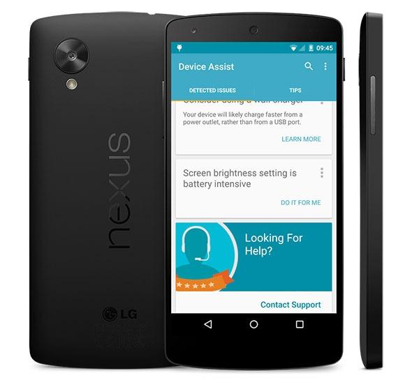 Google Device Assist, una app de dudas y asistencia para móviles Nexus
