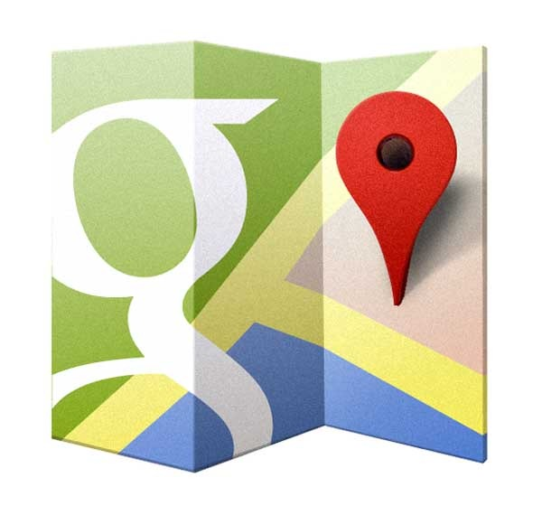 google maps carriles gps