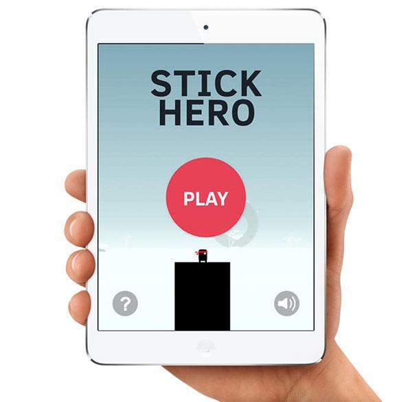 Stick Hero, un difícil pero adictivo juego para Android