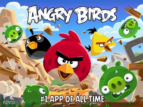 Los Angry Birds protagonizas dos nuevos juegos para móviles