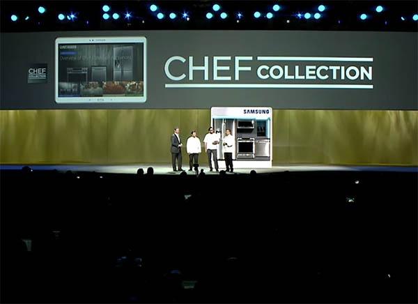 Chef Collection, la app de recetas de Samsung de cocineros de renombre