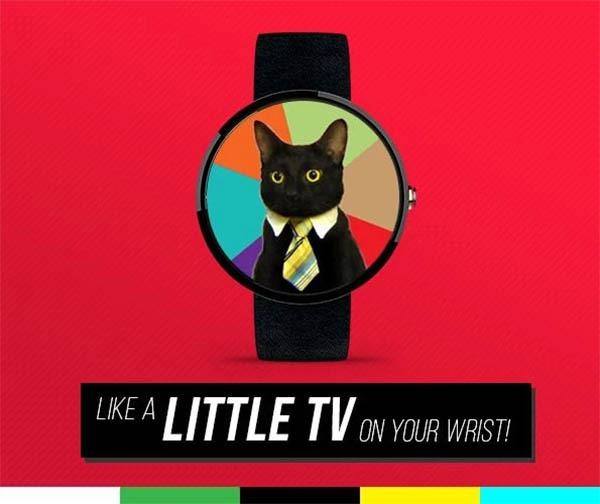 Little TV, lleva animaciones GIF en la pantalla de tu reloj Android Wear