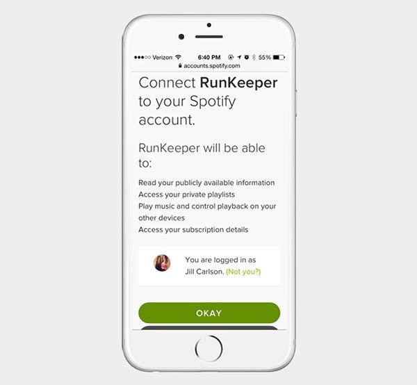 Runkeeper ahora permite sincronizar la música de Spotify