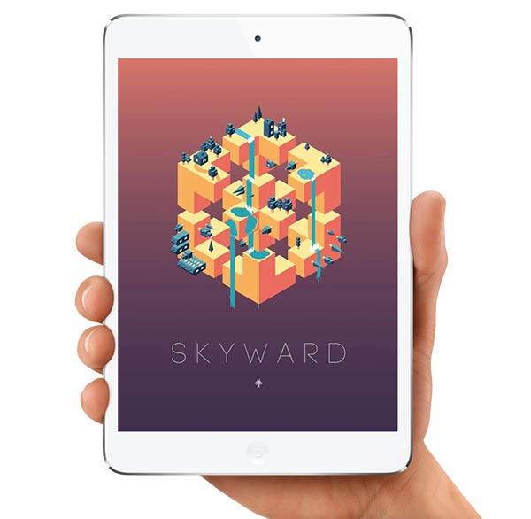Skyward, un juego de habilidad y lógica con un llamativo acabado visual