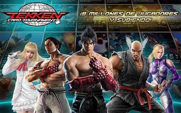 Tekken Card Tournament, peleas y estrategia en este juego gratuito