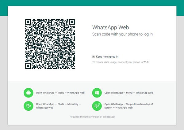 whatsapp web oficial