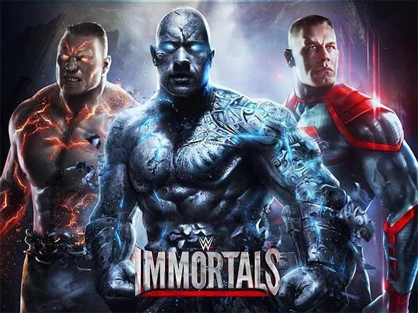 WWE Immortals, las luchas de wrestling se vuelven sobrenaturales
