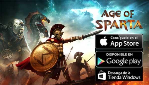 Age of Sparta, crea una ciudad y usa tus tropas para luchar