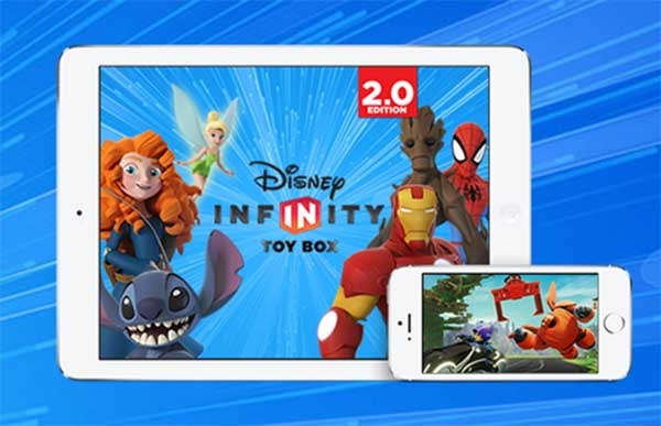 Disney Infinity Toy Box 2.0, juega con tus héroes favoritos en el móvil