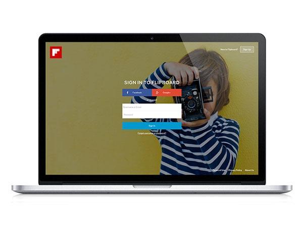 Flipboard da el salto a la web
