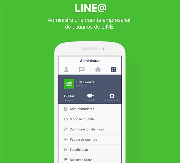 LINE lanza una nueva app de chat para que las marcas hablen con sus seguidores