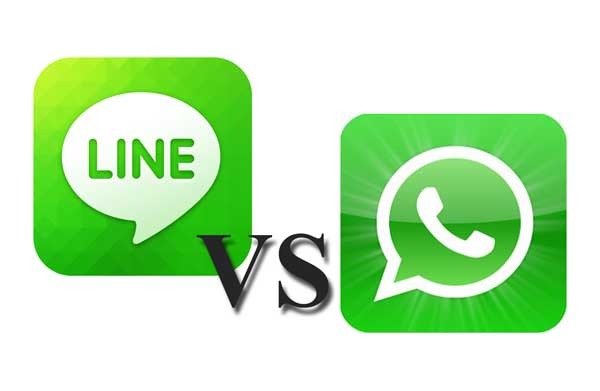 whatsapp web line pc cara a cara