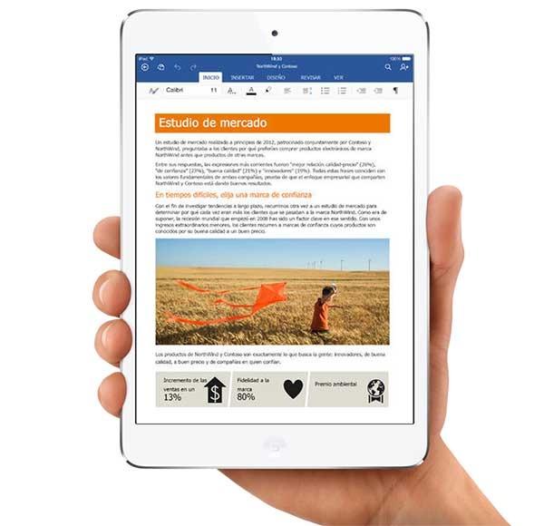 Office para iOS ya permite editar documentos guardados en iCloud y Box