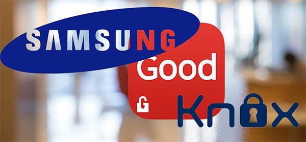 Good for Samsung KNOX, nuevas apps de seguridad empresarial llegan a Samsung